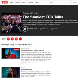 The funniest TED Talks