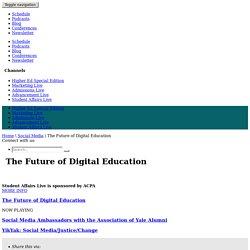 The Future of Digital Education
