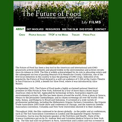 The Future of Food About