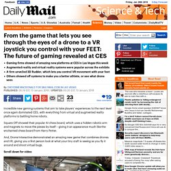 13/01/18 - The future of gaming revealed at CES