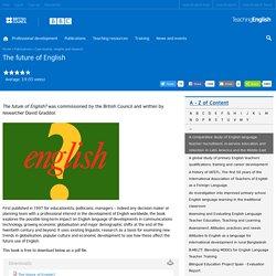 The future of English