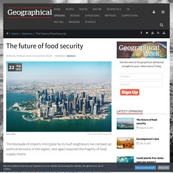 *****The future of food security