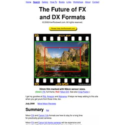 The Future of Nikon FX and DX