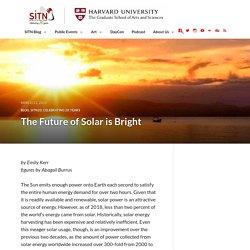 The Future of Solar is Bright