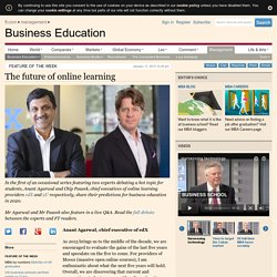 The future of online learning