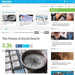 The Future of Social Search