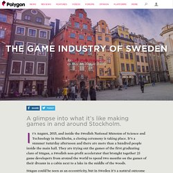 The game industry of Sweden