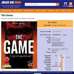 The Game: jeu de société chez Jeux de NIM