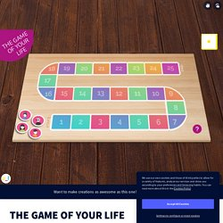 THE GAME OF YOUR LIFE