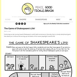 The Game of Shakespeare's Life!
