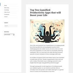 The Top Ten Gamified Productivity Apps