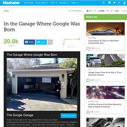 1998 - In the Garage Where Google Was Born