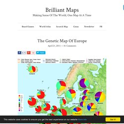 The Genetic Map Of Europe