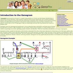 The Genogram - GenoPro