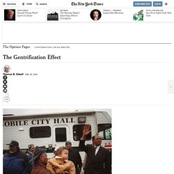 The Gentrification Effect