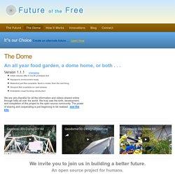 The Geodesic Bio Dome Food Machine