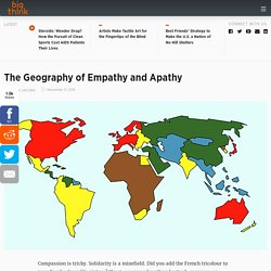 The Geography of Empathy and Apathy