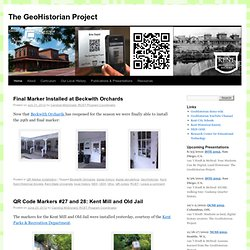 The GeoHistorian Project
