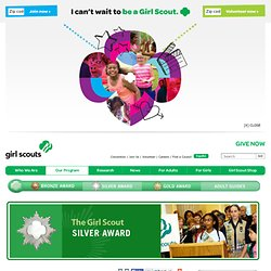 The Girl Scout Silver Award