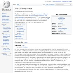 The Giver Quartet - Wikipedia