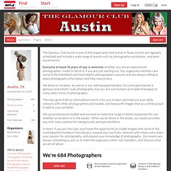 Glamour Photography Club of Texas - Austin Chapter (Kyle, TX) - Meetup.com