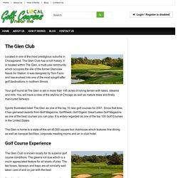 The Glen Club, Glenview IL