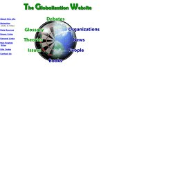 The Globalization Website
