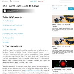 DOWNLOAD Beyond the Inbox: The Power User Guide to Gmail