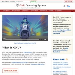 The GNU Operating System - Minefield