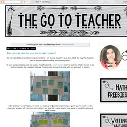 The Go To Teacher: Inquiry Circles