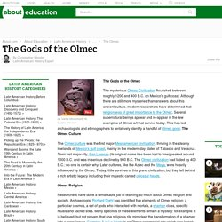 The Gods of the Olmec
