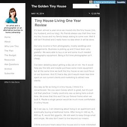 The Golden Tiny House