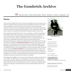 The Gombrich Archive