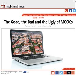 The Good, the Bad and the Ugly of MOOCs