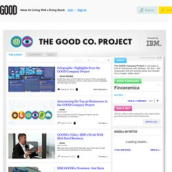 The GOOD Company Project