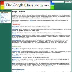 The Google Classroom
