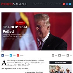 The GOP That Failed