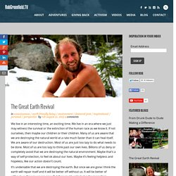 The Great Earth Revival