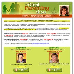 The Great Parenting Show