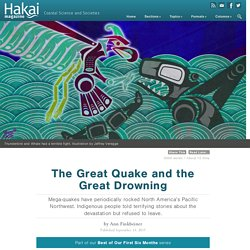 The Great Quake and the Great Drowning