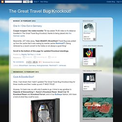 The Great Travel Bug Knockout!
