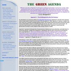 The Green Agenda - Agenda 21