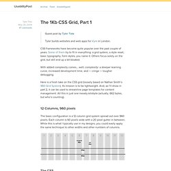 The 1Kb CSS Grid, Part 1