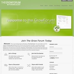 The Grow Forum