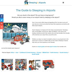 Airport Reviews | The Guide to Sleeping in Airports