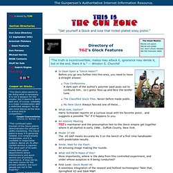 Gun Zone's GLOCK Pages