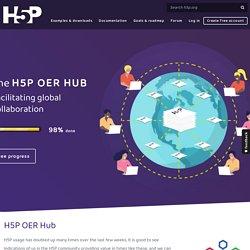 The H5P OER HUB