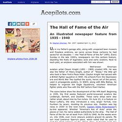 The Hall of Fame of the Air