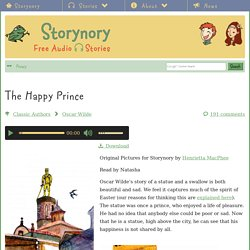 The Happy Prince - Storynory