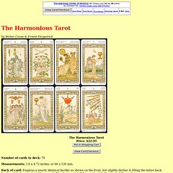 The Harmonious Tarot
